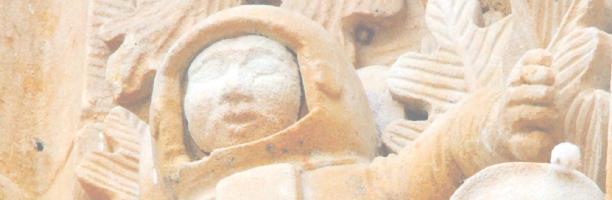 Rana y calavera en Salamanca