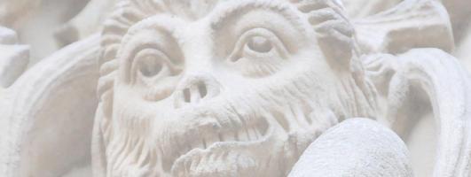 Mono encadenado en Salamanca