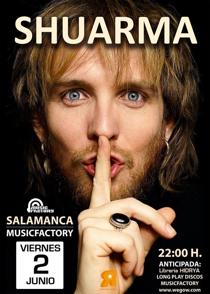 Shuarma, Music Factory, Salamanca