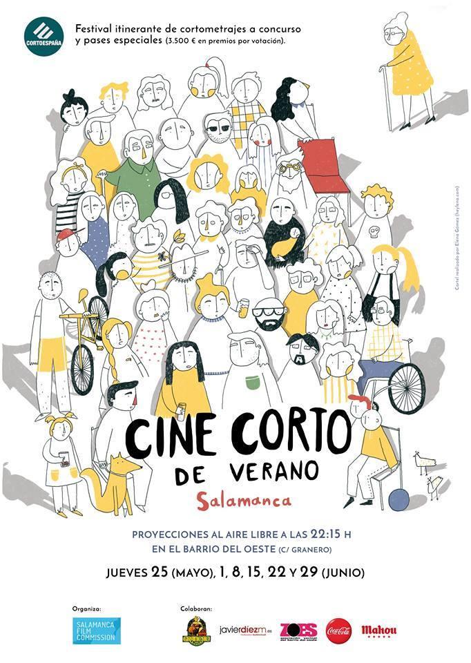 Cine Corto de Verano, Bar Granero, Salamanca