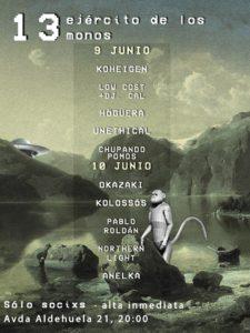 XIII Ejército de los Trece Monos, Salamanca