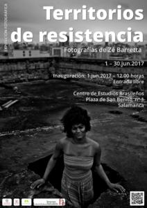 Territorios de resistencia, Centro de Estudios Brasileños, Salamanca