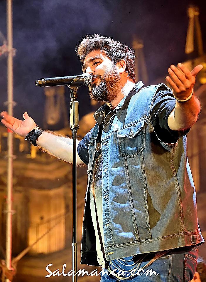 Antonio Orozco, Ferias y Fiestas 2017, Salamanca