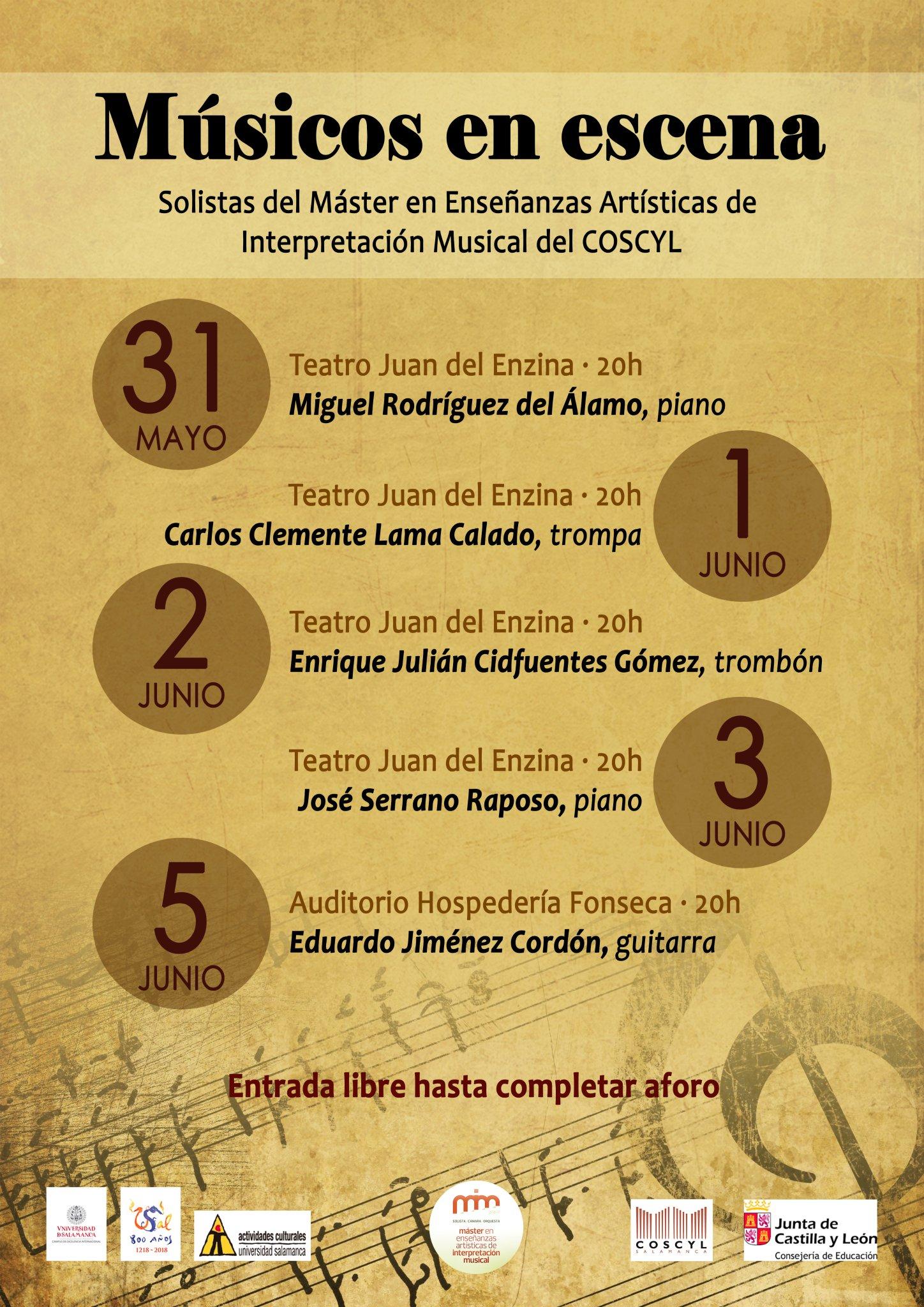 Música a Escena, Salamanca