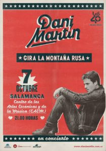 Dani Martín, CAEM, Salamanca
