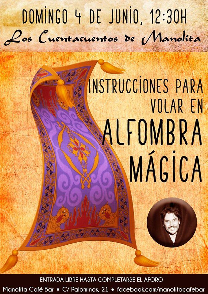 Instrucciones para volar en alfombra mágica, Manolita Café Bar, Salamanca