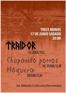 Trece Monos, Salamanca