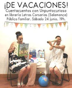 Unpuntocurioso, Letras Corsarias, Salamanca