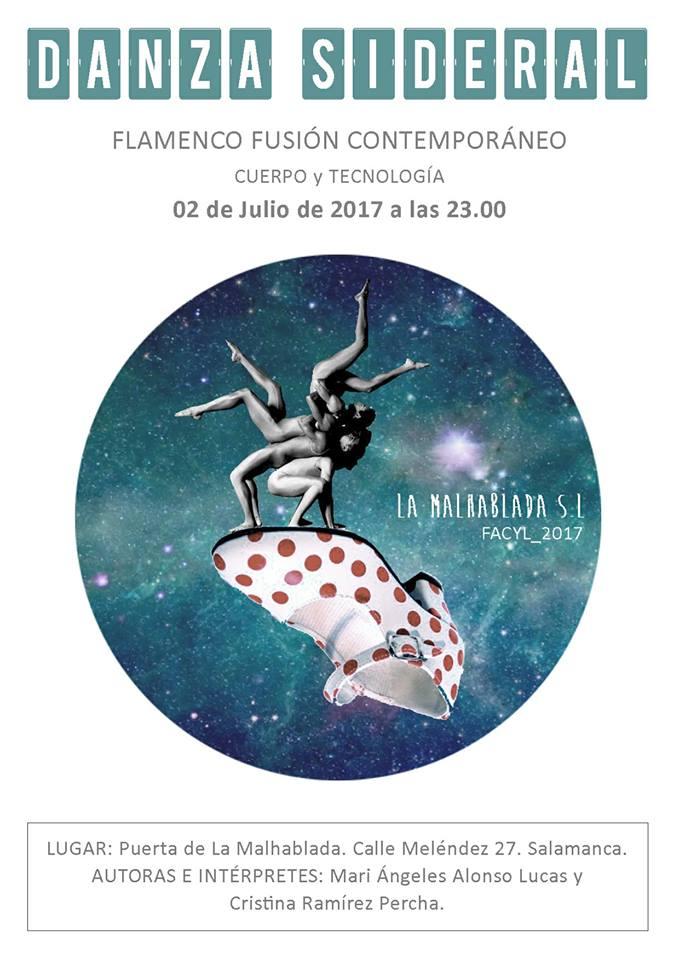 Danza Sideral, FÀCYL 2017, Salamanca