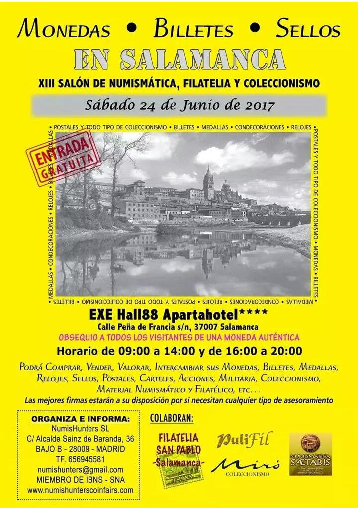 XIII Salón de Numismática, Filatelia y Coleccionismo