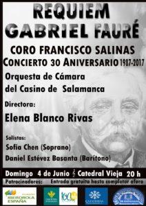 Concierto XXX Aniversario, Salamanca