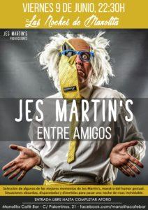 Jes Martin's, Entre amigos, Salamanca