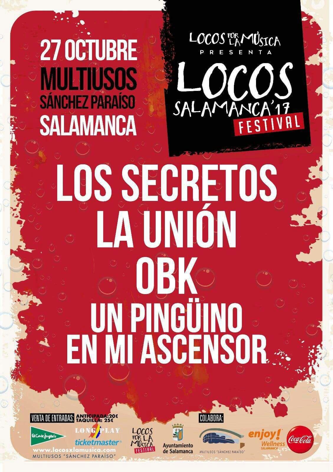Locos Salamanca Sánchez Paraíso Octubre 2017
