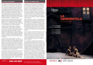 La Cenerentola, Cines Van Dyck, Salamanca