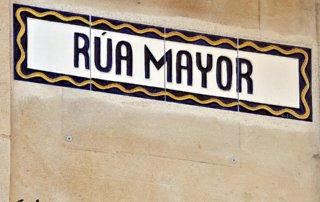 Calle Rúa Mayor, Salamanca