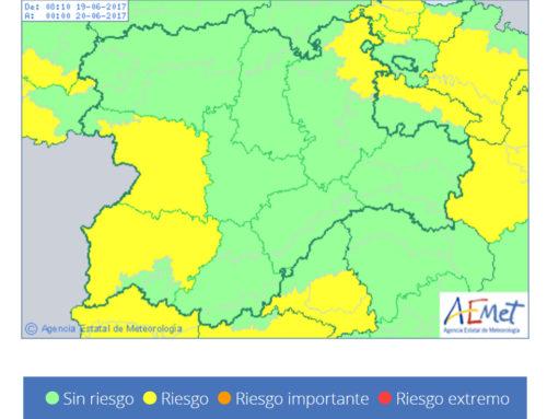 Salamanca regresa a la alerta meteorológica amarilla, este lunes.