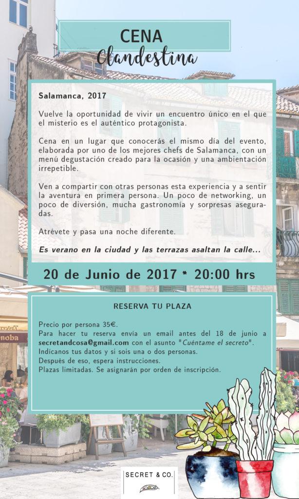 II Cena Clandestina, Salamanca