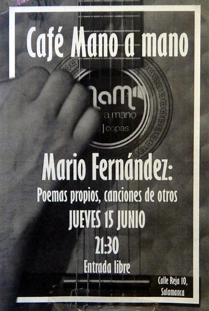 Bar Mano a Mano, Salamanca