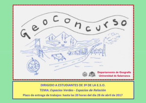 II GeoConcurso, Universidad de Salamanca