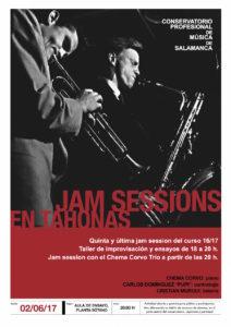 Jam Session en Tahonas (y V), Salamanca