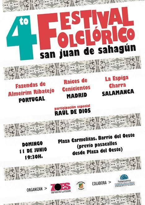 Festival Folclórico San Juan de Sahagún, ZOES, Salamanca