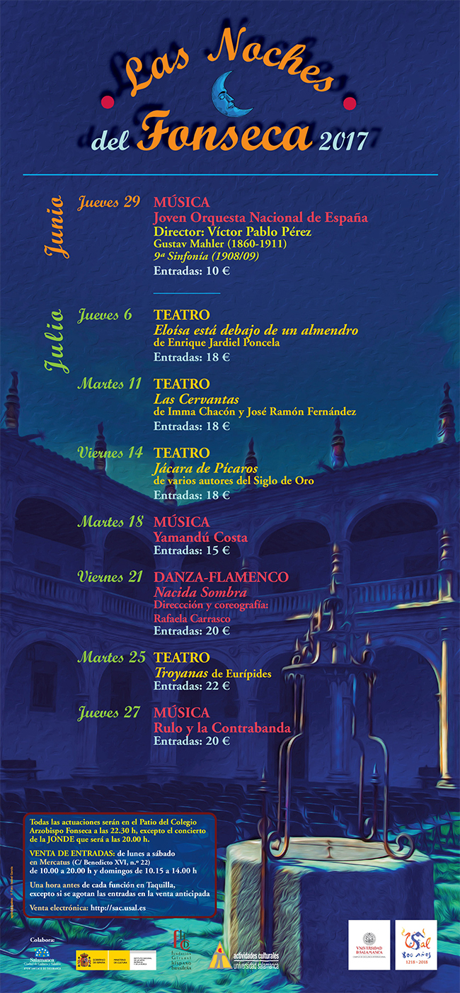Las noches del Fonseca, Universidad de Salamanca