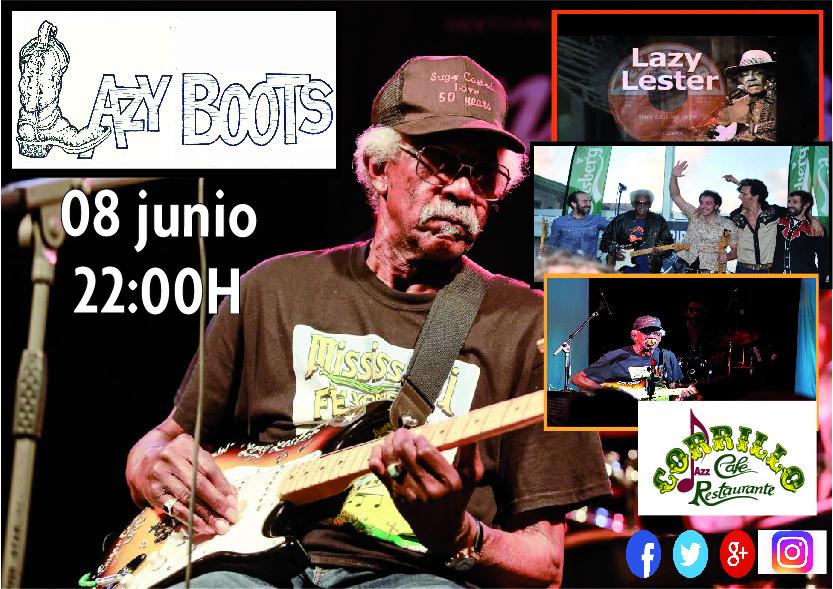 Lazy Boots, Café Corrilo, Salamanca