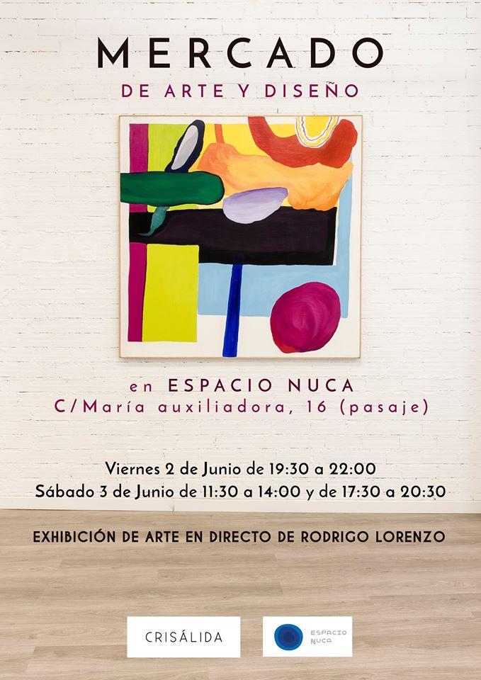 Mercado de Arte y Diseño, Espacio Nuca, Salamanca
