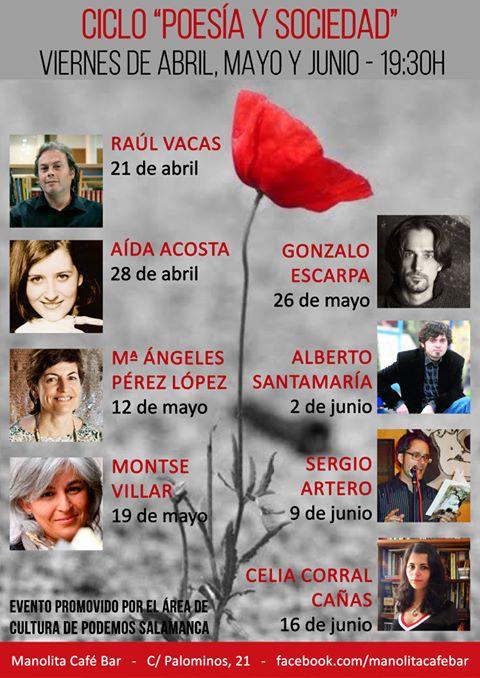 Poesía y Sociedad, Podemos Salamanca