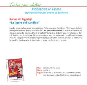 Rabos de Lagatija, Torrente Ballester, Salamanca