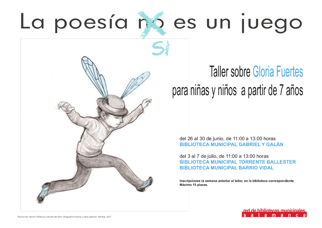 La Poesía sí es un Juego, Salamanca