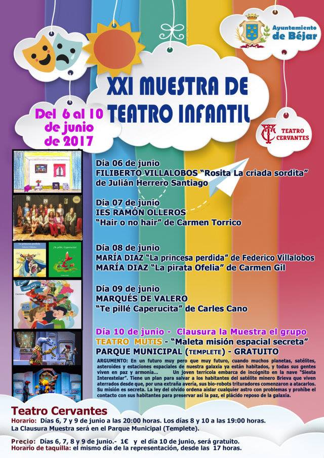 XXI Muestra de Teatro Infantil, Béjar