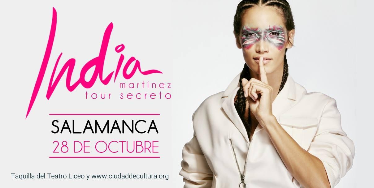 India Martínez, Salamanca 2017