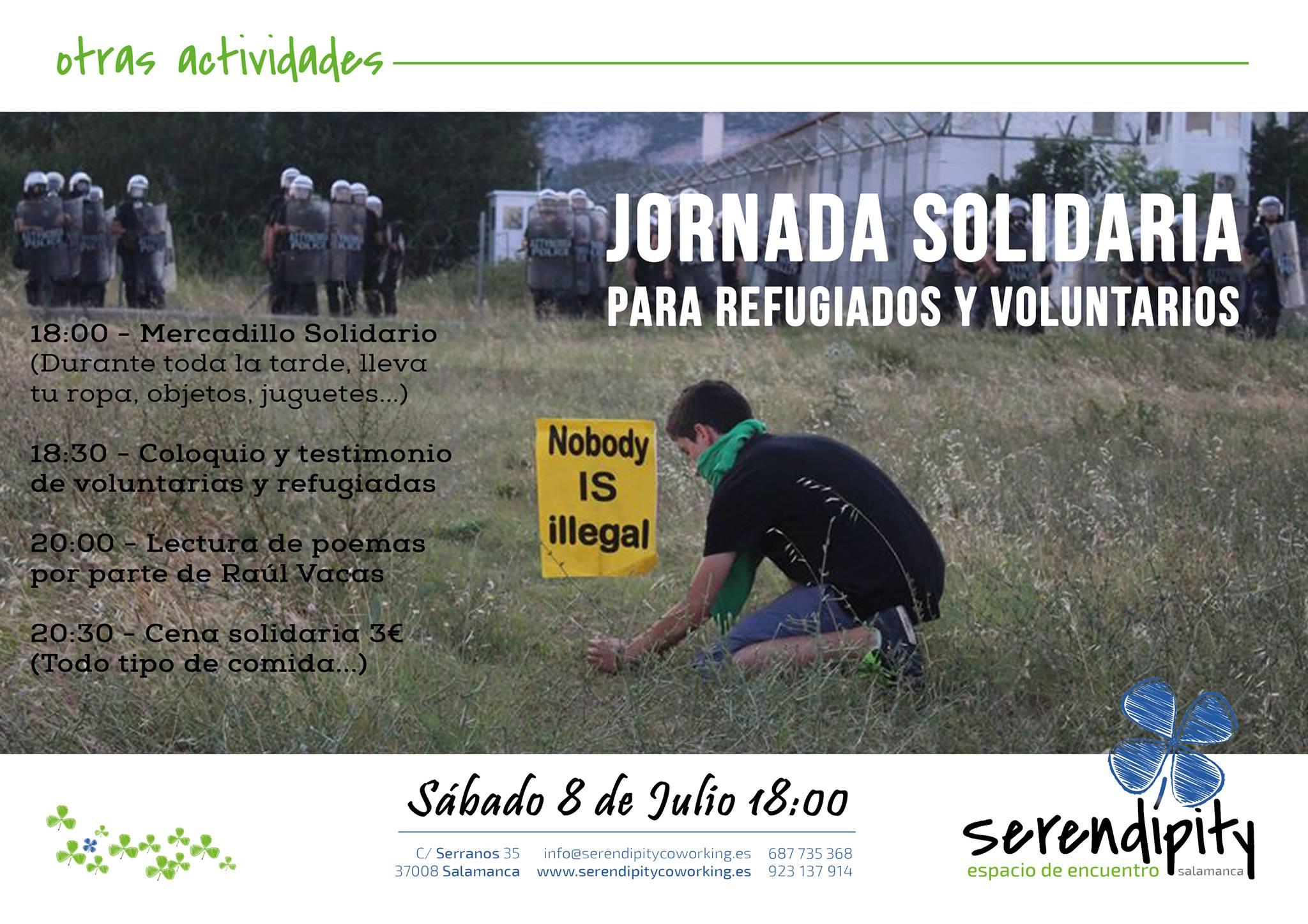 Jornada Solidaria para Refugiados y Voluntarios