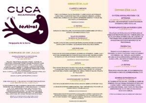 Cuca 4 Caminos Festival