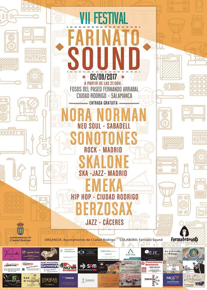 VII Festival Farinato Sound, Ciudad Rodrigo