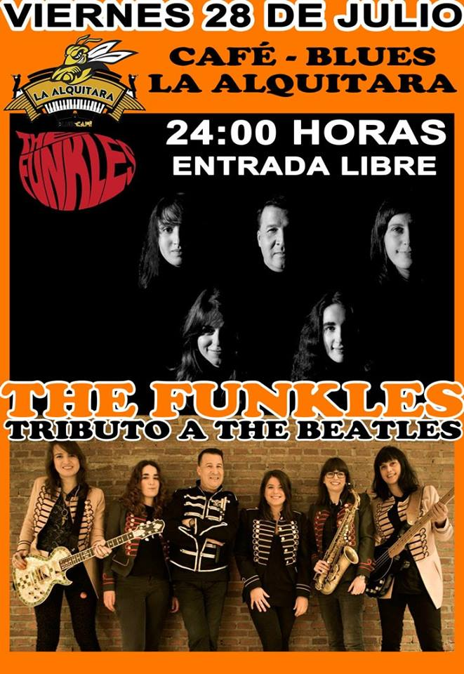 The Funkles La Alquítara Béjar Julio 2017