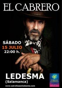 El Cabrero, Estrellas en Ledesma 2017