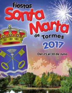 Cartel, Ferias y Fiestas 2017, Santa Marta de Tormes