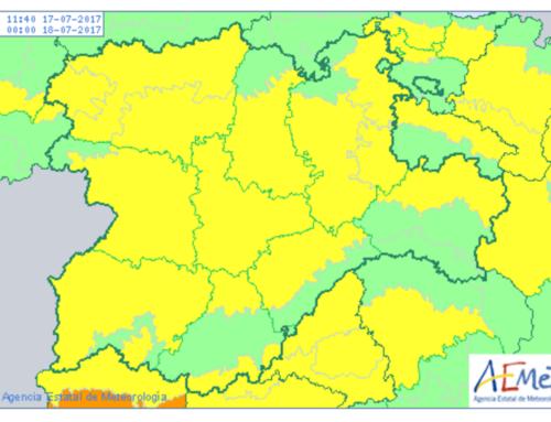 Salamanca despide la segunda alerta meteorológica por temperaturas extremas.