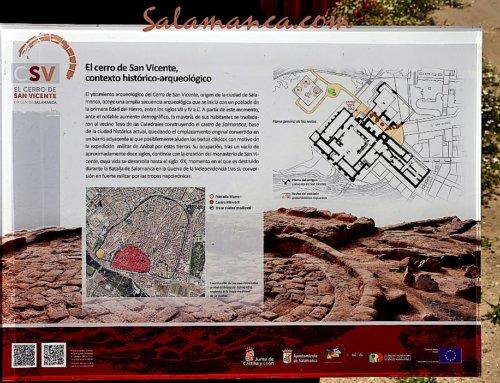 El Ayuntamiento de Salamanca impulsa dos proyectos de investigación arqueológica en el Cerro de San Vicente.