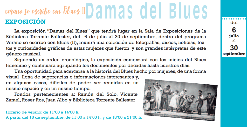 Damas del Blues, Salamanca