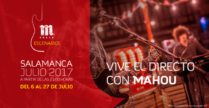Escenarios Mahou 2017, Salamanca