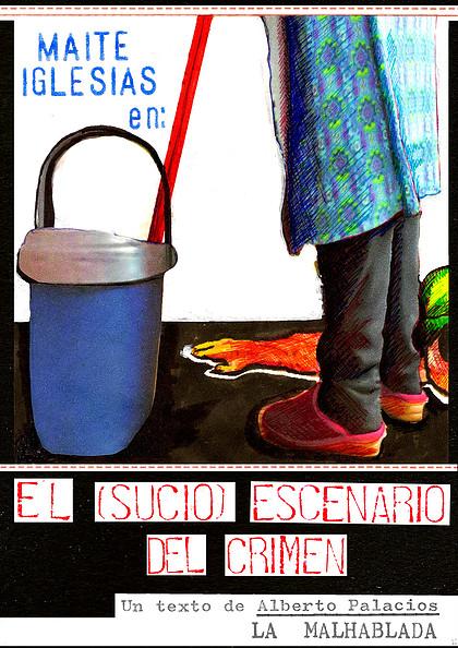 El (sucio) escenario del crimen, La Malhablada, Salamanca