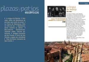 Plazas y Patios, Salamanca