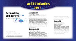 Serradilla del Arroyo, Noches de Cultura 2017