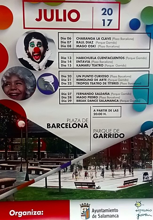 Verano 2017, Garrido