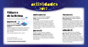 Villares de la Reina, Noches de Cultura 2017