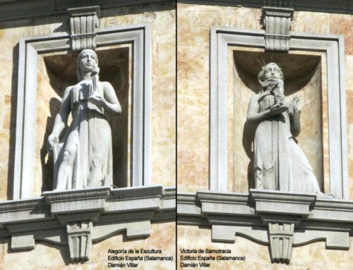 Las esculturas del Edificio España son obras de arte y no pueden ser destruidas.