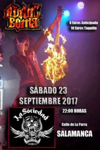 La Sociedad Hard Rock Club, Salamanca